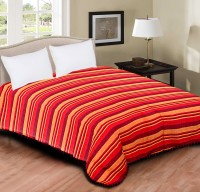 Home Originals Polycotton Double Bed Cover Red
