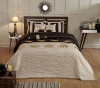 Stoa Paris Silk Double Bed Cover Multicolor - BCVEARZFVKZHNVJP