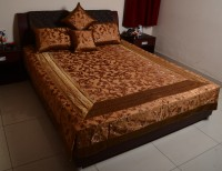 Sukriti Velvet, Silk, Cotton King Bed Cover