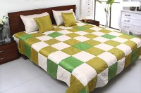 Coco Bee Silk Double Bed Cover