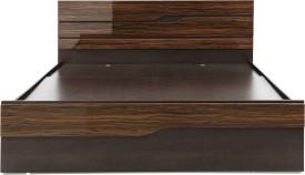 EVOK Cosmo Engineered Wood Queen Bed With Storage