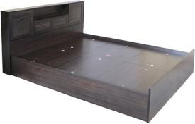 HomeTown Bali Super Engineered Wood King Bed With Storage