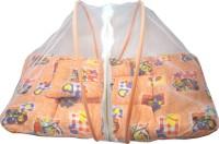 Muren Polycotton Bedding Set (Baby Bedding Set With Mosquito Net - Joker-Orange)