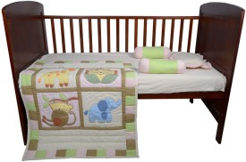 Blooming Buds Jungle Friends Cotton Bedding Set