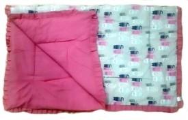 Krivi Kids Cats Polyester, Cotton Bedding Set