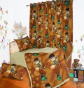 Aurraa Brown Ben 10 Single Bedding Set - Multicolor