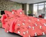 Ahmedabad Cotton Ahmedabad Cotton Cotton Printed Single Bedsheet
