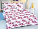 Royal Crust Modern Floral Print Printed Bed Sheet Flat Double Bedsheet