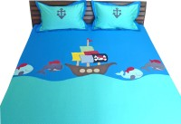 Aiva Little Pipal Pirate Adventure Kids Flat Double Bedsheet