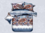 YNA Polycotton Paisley Queen Bedsheet