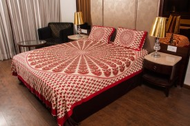 Dreamons Cotton Printed Double Bedsheet