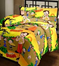 ComfortHome Polyester Printed Single Bedsheet