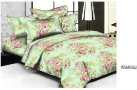 Weaves Cotton Floral Double Bedsheet