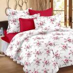 Ahmedabad Cotton Ahmedabad Cotton Cotton Floral Single Bedsheet