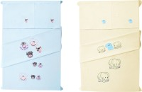 Baby Rap Cotton Embroidered Standard Crib Bedsheet (4 Bed Sheets, 4 Pillow Covers, Multicolor) - BDSE6G7WWSPKZGMZ