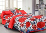 Story@Home Cotton Floral Single Bedsheet