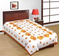 Fab Rajasthan Unique Arts Cotton Printed Single Bedsheet 1 Bedsheet, Multicolor - BDSE7UYQ5HETYGPY