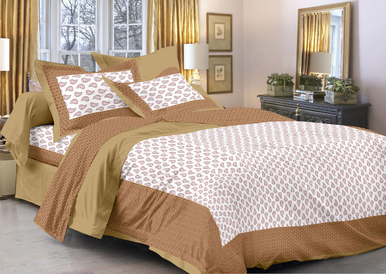 Flipkart - Cotton Double Bedsheets Just @ Rs. 399