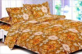 Snuggle Cotton Abstract Queen sized Double Bedsheet