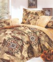 Valtellina Ethnic Print 2?Single S With 2 Pillow Covers Abstract Flat Single Bedsheet