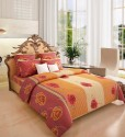 Home Candy Attractive Cotton Collection Flat Double Bedsheet