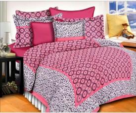 CottonHandiCluse Cotton Printed Double Bedsheet