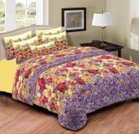 Home Originals Polycotton Floral Double Bedsheet 1 Double Bedsheet, 2 Pillow Covers, Multicolor - BDSEEQKMRDRYZP7H