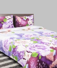 Breeza Polycotton Abstract Queen sized Double Bedsheet