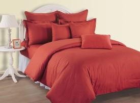 Swayam Cotton Striped King sized Double Bedsheet