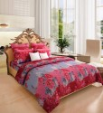 Home Candy Attractive Floral Cotton Collection Flat Double Bedsheet