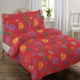 Swaas Cotton Floral Queen sized Double Bedsheet