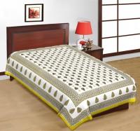 Fab Rajasthan Unique Arts Cotton Printed Single Bedsheet 1 Bedsheet, Multicolor - BDSE7UYQCXCP9TN8