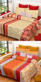IWS Cotton Printed Double Bedsheet
