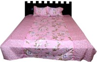 Nathi And Nancy Cotton Floral Double Bedsheet 1 Bed Sheet & 2 Pillow Covers, Multicolor - BDSEK7HS2SPGBUW8