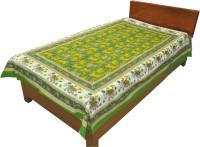 Fab Rajasthan Unique Arts Cotton Printed Single Bedsheet 1 Bedsheet, Multicolor