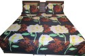 Shilimukh Embroidered Summer Flat Double Bedsheet - BDSDW53KZAS23XEH