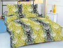 Royal Crust Floral Pigment Print Printed Bed Sheet Flat Double Bedsheet
