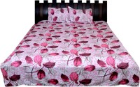 Nathi And Nancy Cotton Floral Double Bedsheet 1 Bed Sheet & 2 Pillow Covers, Multicolor - BDSEK7HRZPEHTY7P