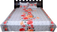 Nathi And Nancy Cotton Floral Double Bedsheet 1 Bed Sheet & 2 Pillow Covers, Multicolor - BDSEK7HV8UZQHYNC