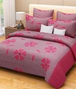 La Elite La Elite Cotton Floral Double Bedsheet
