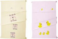 Baby Rap Cotton Embroidered Standard Crib Bedsheet (4 Bed Sheets, 4 Pillow Covers, Multicolor) - BDSE6G7WUTNDYZG4