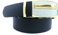 Red Cross Men, Boys Black Genuine Leather Belt Black