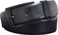 Cross Men Casual, Party, Formal, Evening Black Genuine Leather Belt Black