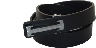 SFA Men Formal Black Artificial Leather Belt