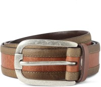 Van Heusen Men Brown Genuine Leather Belt Brown - BELEE972KGTKR4VQ