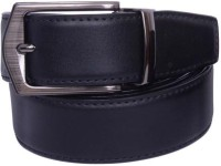 YOURS LUGGAGE Boys, Men Casual, Party, Formal Black, Brown Synthetic, Artificial Leather, Genuine Leather Reversible Belt BLACK