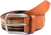 Hugo Broun Men Multicolor Genuine Leather Belt Multicolor