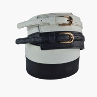 Antiformal Belt - White And Black