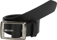 Global Leather Boys, Men, Girls, Women Formal, Casual, Party, Evening Black Genuine Leather Belt Black - BELEAJ4SVZCBXVGC