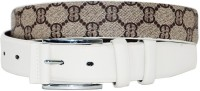 Hadwin Women Evening, Formal, Party Grey, White Artificial Leather Belt Grey, White